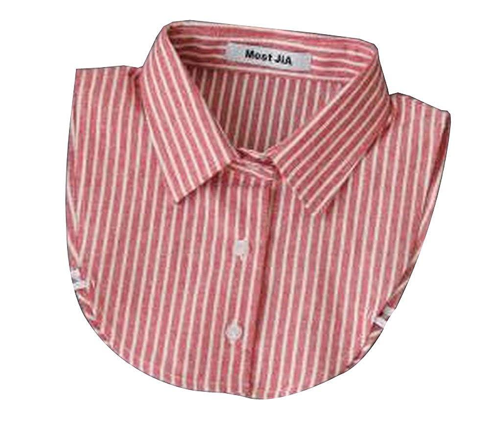 Denim Half Shirt staccabile Fake False Faux Collar Unisex BC-CLO2493146011-IRENE01746