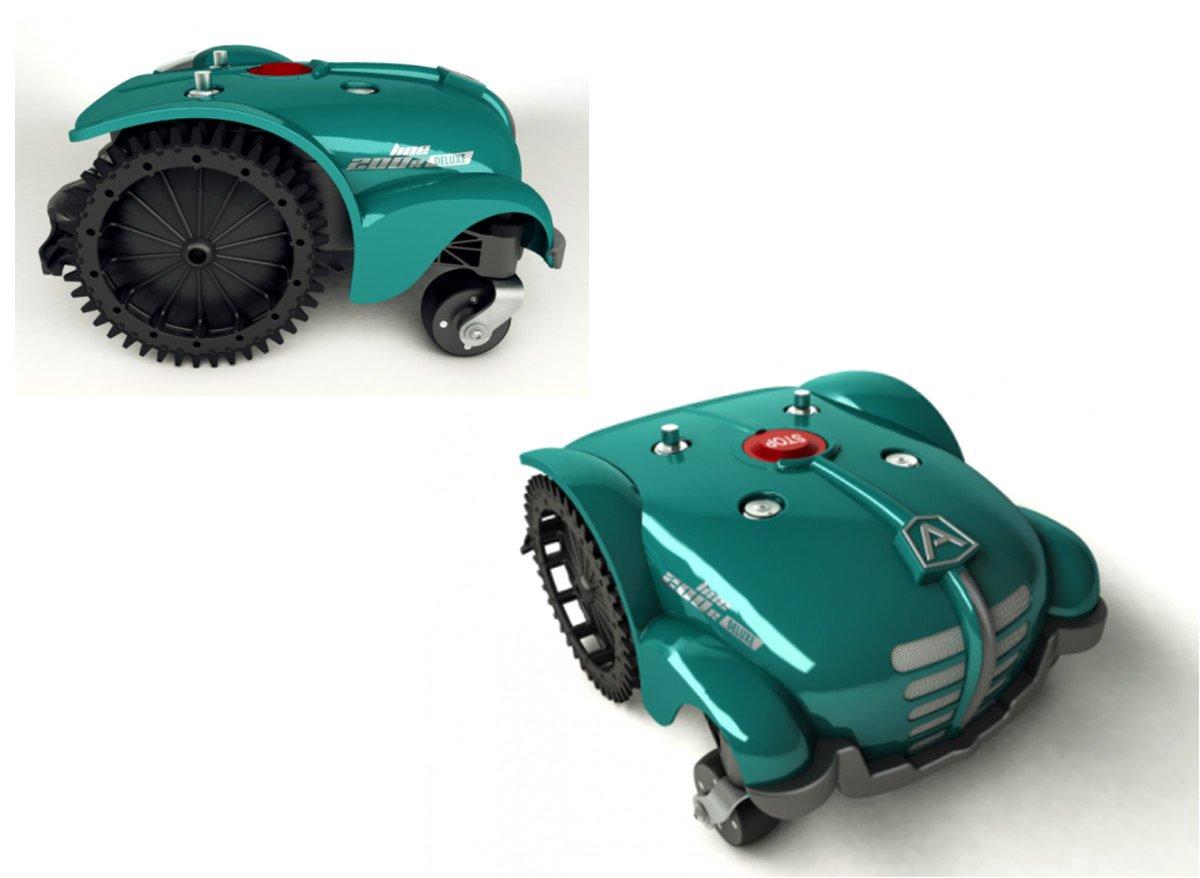 Robot cortacésped eléctrico 200 deluxe 1B 2500-3000 Ambrogio m2 ...