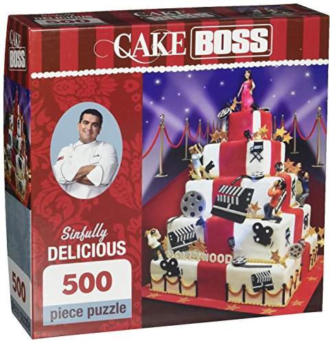 Masterpieces Sinfully Delicious Cake Boss Jigsaw Puzzle (500-Piece)