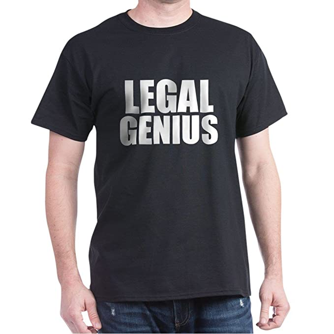 2e0f439b2 Amazon.com: CafePress Legal Genius T-Shirt - 100% Cotton T-Shirt: Clothing