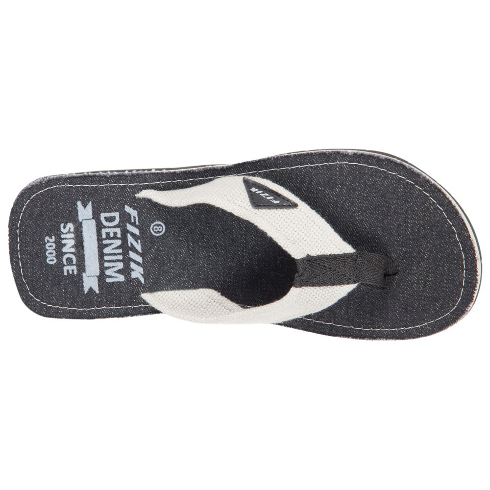Fizik Mens Black Grey Cotton Flip Flops 10 Uk Buy Online At Low Introduction To 7400 Series Digital Logic Devices Fizix Prices In India