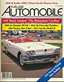 img - for Collectible Automobile: 1959-64 Daimler SP250; 1968-74 AMC Javelin; 1958 Buick Limited the Rhinestone Cowboy; 1931 Lincoln Model K Phaeton; 1960 Mercury Meteor Moncalm (1987 Journal) book / textbook / text book