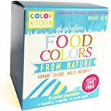 "ColorKitchen Food Color Packets - 5 count ""Vibrant Color From Nature"" (Blue)"