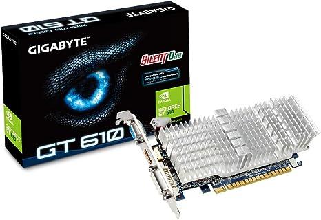 Amazon.com: Gigabyte GeForce GT 610 1 GB DDR3 PCI Express ...