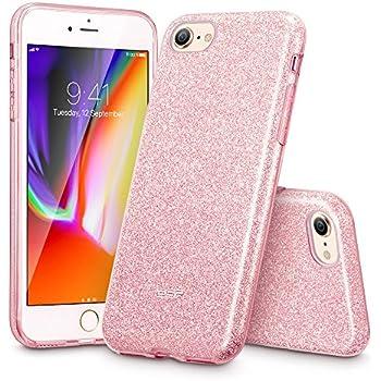 iphone 8 plus case rose gold glitter