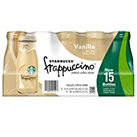 Starbucks Frappuccino, 9.5 Fl. Oz Glass Bottles 15Count