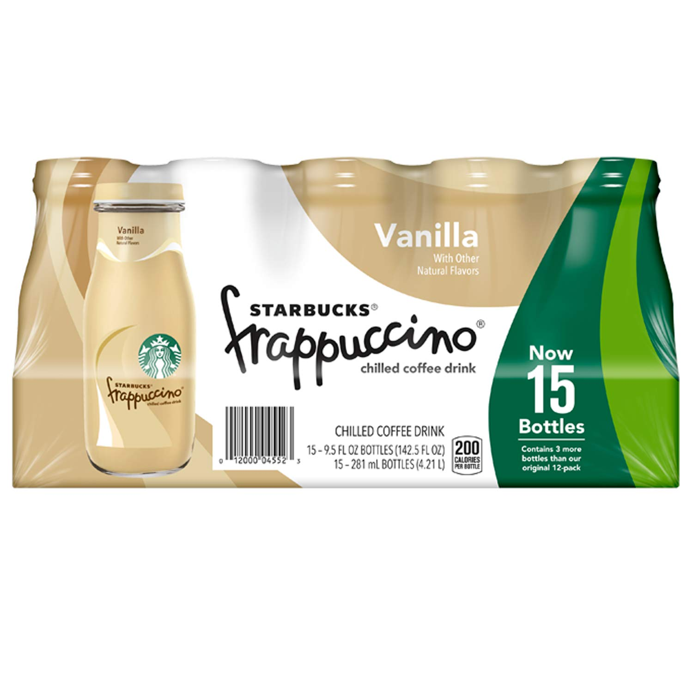 Starbucks Frappuccino, Vanilla, 15Count