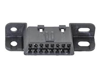 Mo-Co-So Replacement Female J1962 OBD II 2 Diagnostic System Housing w/ 16  Female Wire Sockets  Compatible with most GM, Buick, Cadillac, and some