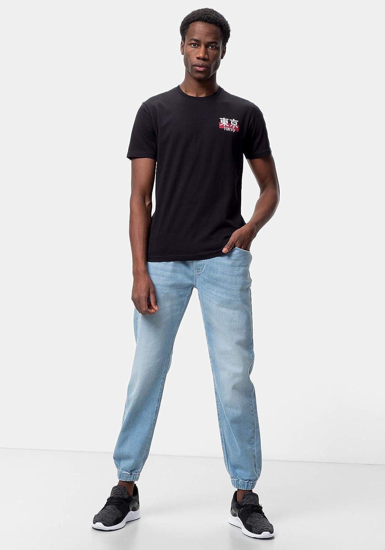 Camiseta Estampada para Hombre TEX