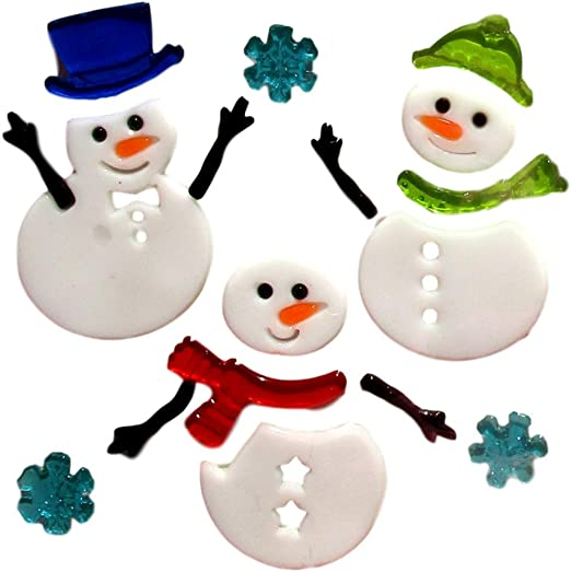 Merry Christmas with Santa, Reindeer, and Snowman 10 X 33 Jumbo Hanukkah and Christmas Decorations Winter Treasures Holiday Diversity Window Clings