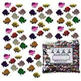 Confetti Fish: Angel Fish MultiColor Mix - Half Pound Bag (8 oz) - (CCP8152-08A)