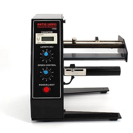 Z&Y 220V Dispensadores de etiquetas automáticos, Etiquetadoras Etiquetas Rectangulares Automáticas: Amazon.es: Industria, empresas y ciencia