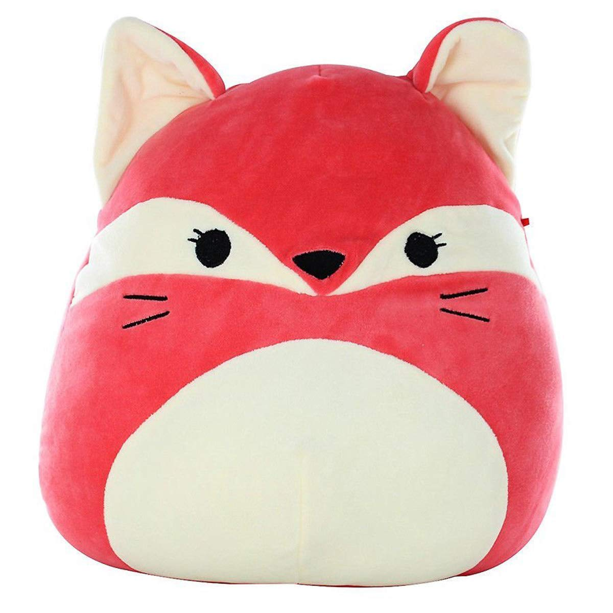 SQUISHMALLOW Fifi The Fox Pillow Stuffed Animal, Red, 16