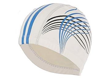Gorro de baño Sombreros de natación de la Tela de la PU Cascos de natación de