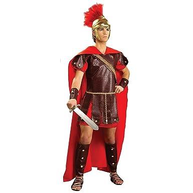 Roman Warrior Adult X-Large Costume  sc 1 st  Amazon.com & Amazon.com: Adult Super Deluxe Roman Warrior Costume: Clothing