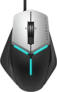 Alienware Elite Gaming Mouse AW958 - 12, 000 DPI - 5 On-The-Fly DPI Settings - 13 Programmable buttons (Renewed)