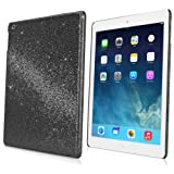 iPad mini 1st Gen Case, BoxWave® [Glamour & Glitz Case] Slim, Snap-On Glitter Cover for Apple iPad mini 1st Gen - Black Pearl