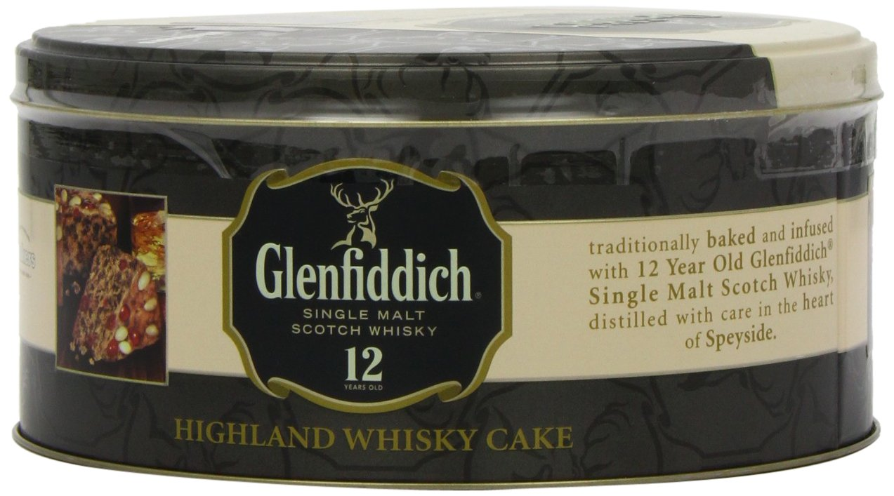 Walkers Shortbread Glenfiddich Highland Whisky Cake, 28.2 Ounce Tin Traditional Scottish Fruit Cake with Glenfiddich Malt Whisky, Cherries, Sultanas by Walkers Shortbread (Image #7)