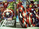Marvel Avengers Assemble 4 Folder Set ~ Beware: Heroes in Action