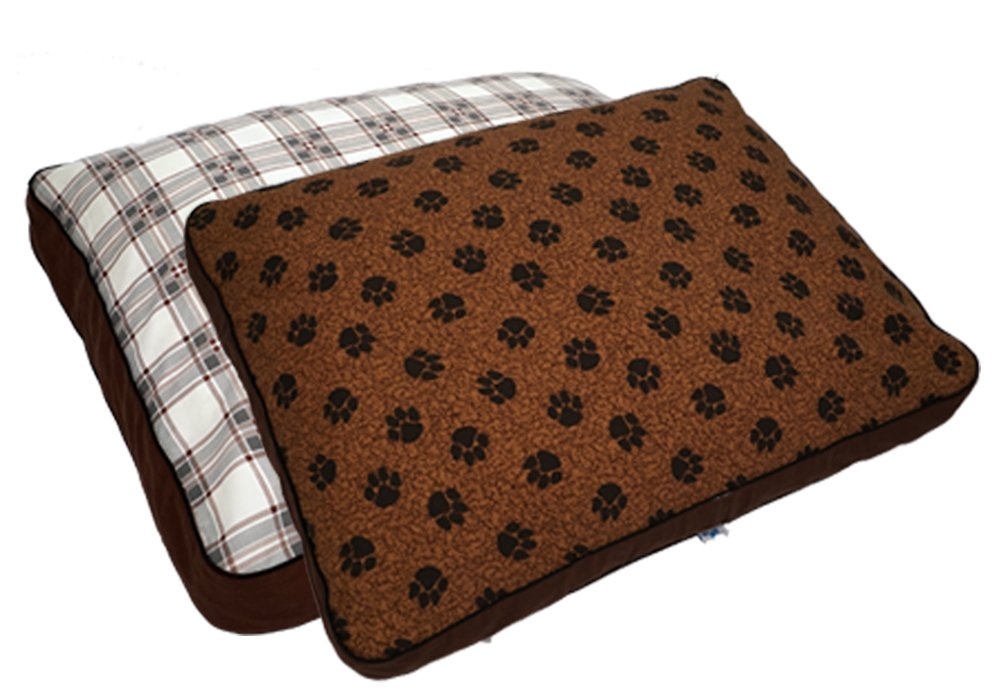 MyPillow Pet Beds, Medium, Brown