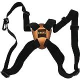 ZEISS Slide & Flex Bino Strap System, Holds Binoculars Secure, Black