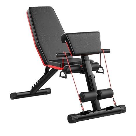 Banco de pesas plegable ejercicios entrenamiento Entrenador de ...
