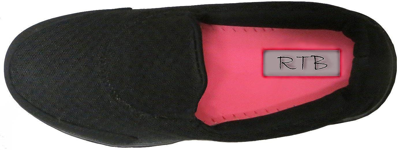 RTB Baskets Chaussures de sport Marche Go Get Fit pour femme par Noir -  noir 384e6a4f2b9