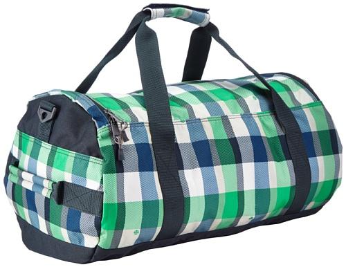 Brunotti Sports Bag BB4158-704 - Bolsa al hombro para hombre, color varios colores, talla 52x31x31 cm Varios colores (Mehrfarbig (Check Green 704))
