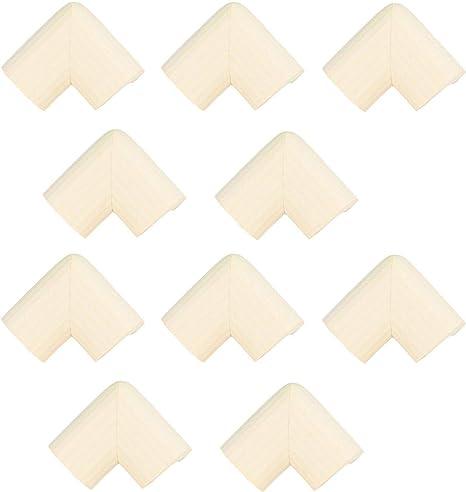 Protectores de esquina de seguridad para bebés y tira de borde protector beige Corners (10 pack) - Beige: Amazon.es: Bebé