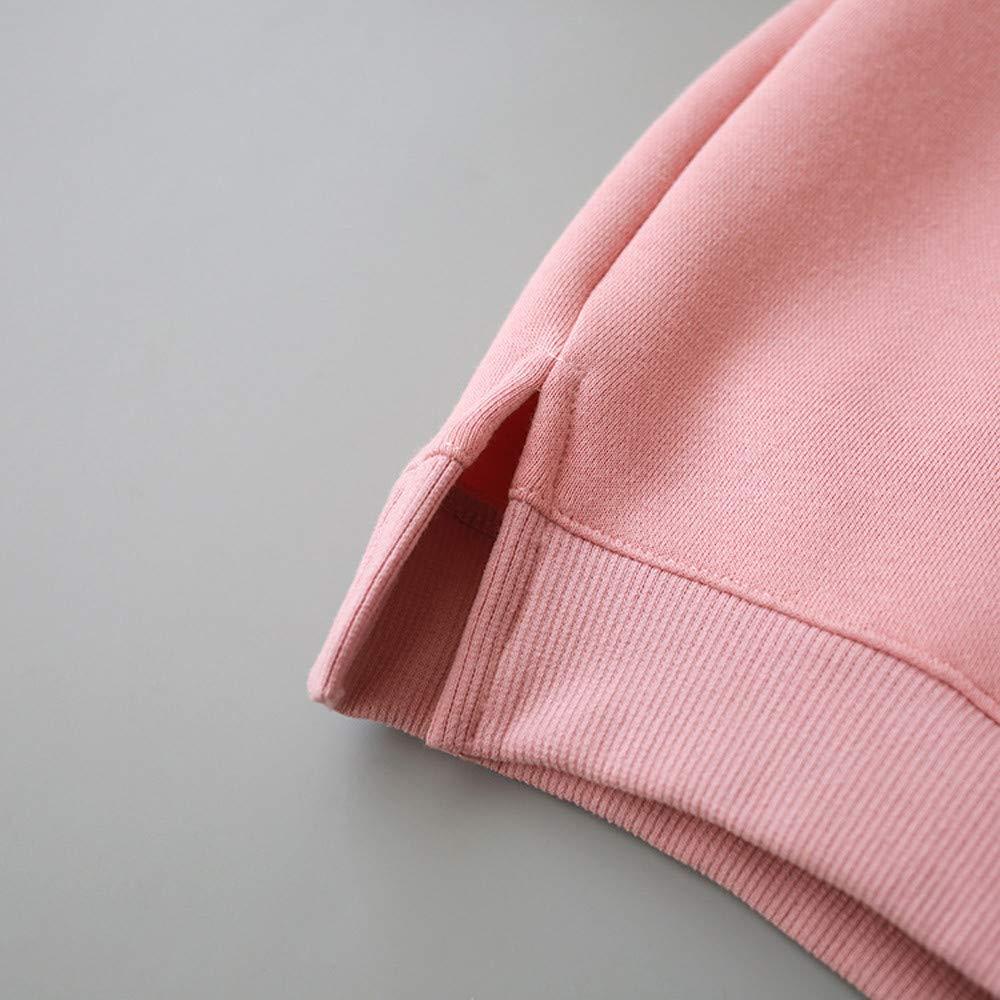KONFA Toddler Baby Boys Girls Cartoon 3D Ears Hoodie Pullover,Kids Hooded Jacket Coat Fall Winter Clothes