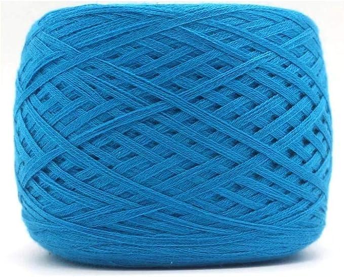 Seis hilos de lana, hilo de algodón, algodón mercerizado, hilo de ...