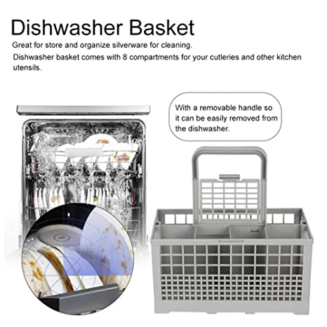 Cesta universal para lavavajillas (con asa, soporte de ...