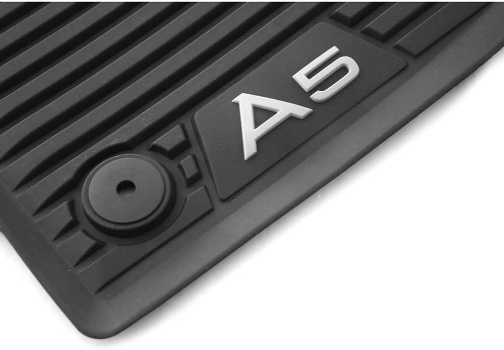 B9/F5 Audi dorigine A5/ Coupe Cabriolet Premium Tapis de Sol 2/x Avant en Caoutchouc Tapis en Caoutchouc Tapis Noir 8/Toutes Saisons w7061501/041