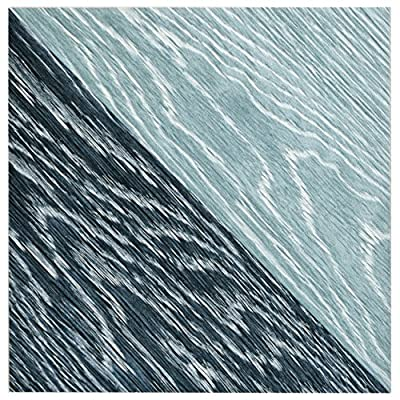 "SomerTile FGF7TMBL Ona Melange Porcelain Floor and Wall Tile, 6.5"" x 6.5"", Blue, 20 Piece"