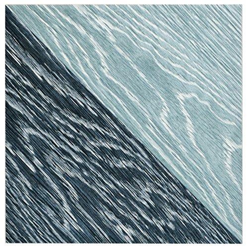 SomerTile FGF7TMBL Ona Melange Porcelain Floor and Wall Tile, 6.5'' x 6.5'', Blue, 20 Piece by SOMERTILE