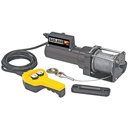 Amazon.com: 1500 lb. Capacity 120 Volt AC Electric Winch ... on