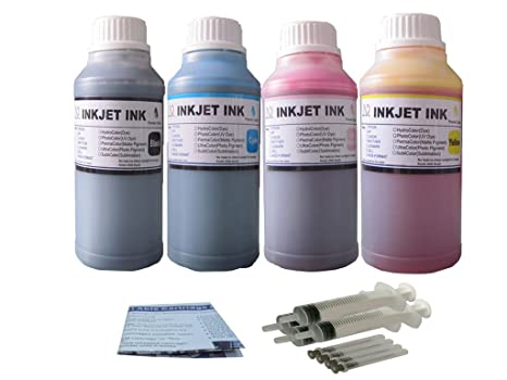 Amazon. Com: 400 ml of inkuten uv resistant refill ink for hp hp 21.