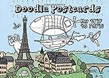 My Trip to Paris: Doodle Postcards