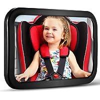 Baby Car Mirror, Car Seat Mirror, Monitor Infant Child in Rear Facing Car Seat