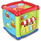 Bemixc メロディぱずるボックス 遊びいっぱい音楽おもちゃ 型はめ 音の出る赤ちゃんおもちゃ たのしく知育 やみつきボックス