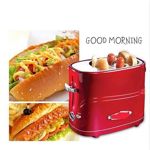 FUHUANGYB Panificadora tostadora extraíble extraíble Hot Dog ...