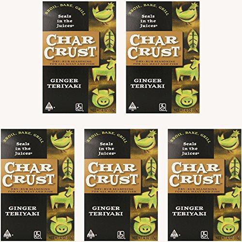 - Char Crust Rub Ssnng Gngr Teriyaki