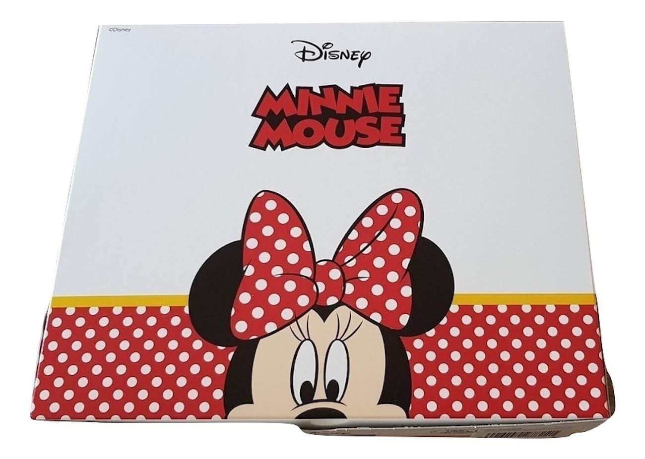 Sfiziosa Minnie Accappatoio bambina colore Rosso Taglie 3/4-5/6-7/8-9/10 anni con scatola (7/8 ANNI) G&C