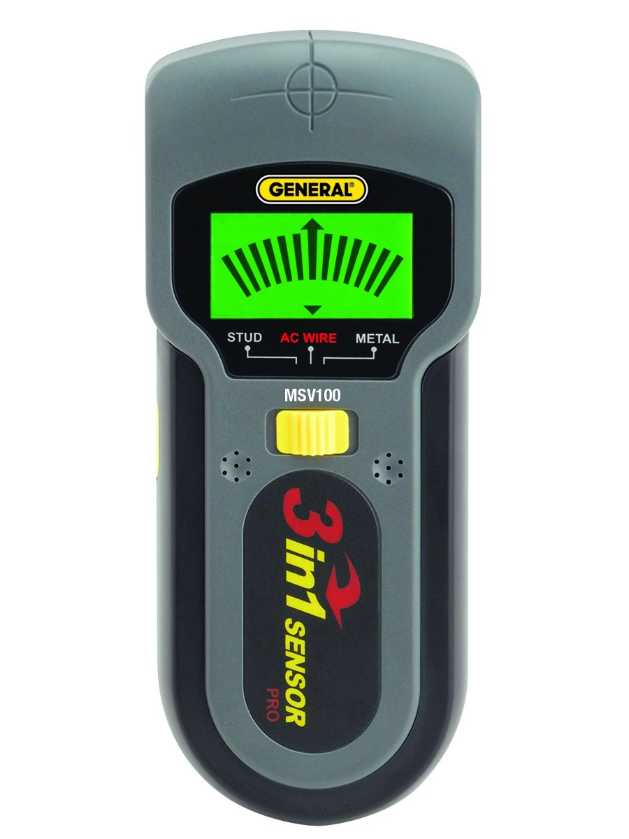 General Tools MSV100 Stud, Metal and Voltage Detector