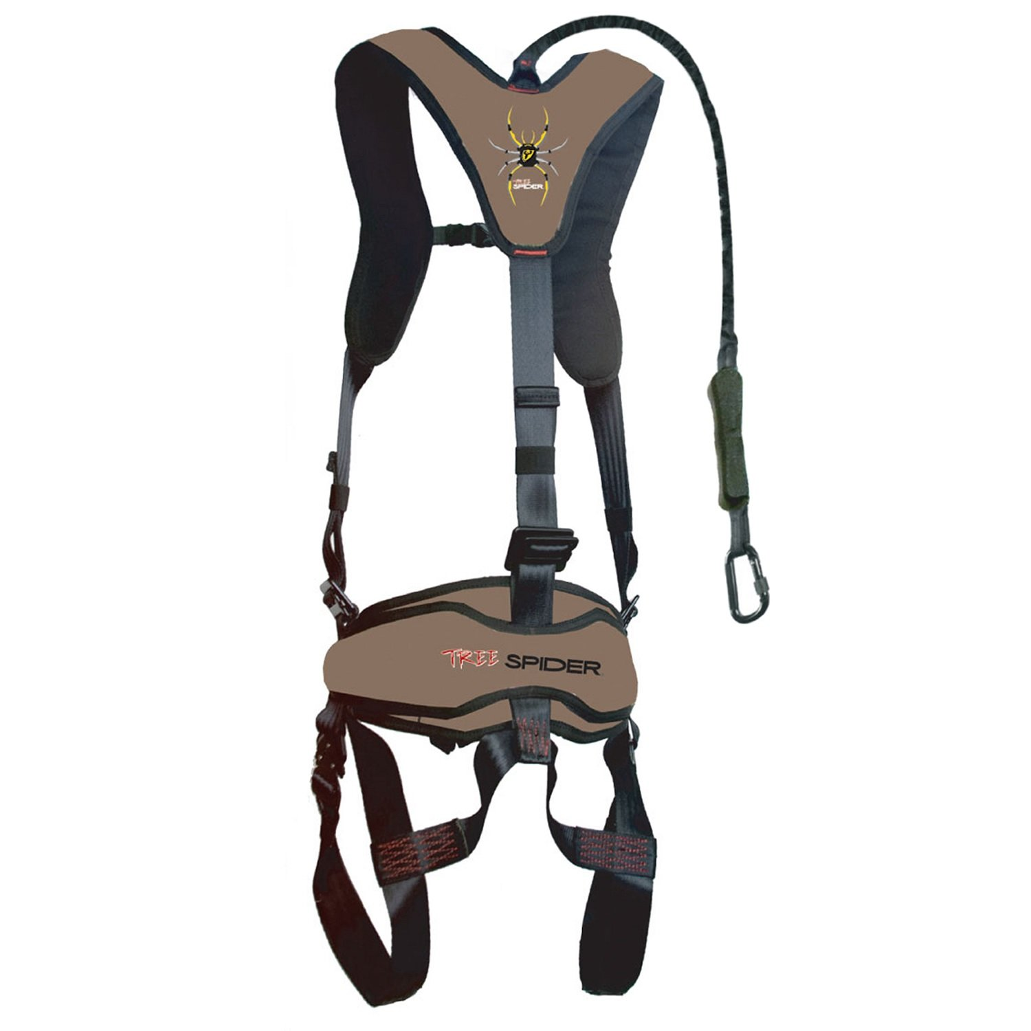 61lp6%2Bybr4L._SL1500_ amazon com tree spider ripstop spiderweb hunting safety harness Sexy Climbing Harness at gsmx.co