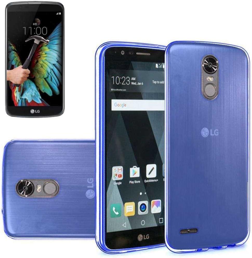 Todobarato24h Funda TPU Lisa LG K4 2017 5 Pulgadas Azul + ...