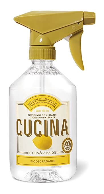 Amazon.com : CUCINA Countertop Cleaner - 16.9 fl. oz. - Ginger and ...