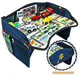 Smart Travel Tray – Ideal as Kids Travel Tray – Toddler Travel Tray &...