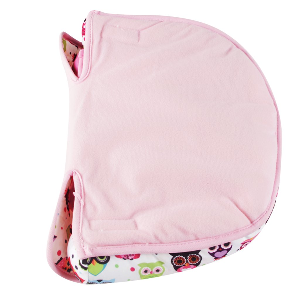 Infant Head Support for Car Seat, KAKIBLIN Baby Soft Neck Support Pillow, Pink by KAKIBLIN (Image #1)