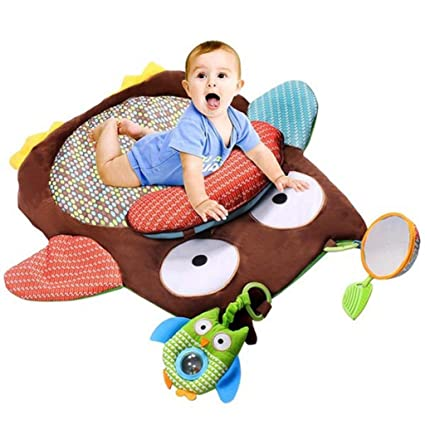 Baby Gyms & Playmats Baby Frog Game Playmat Newborn Baby Gym Activity Playmat Crawling Game Mat Cartoon Floor Play Mat With Pillow Plush Toys